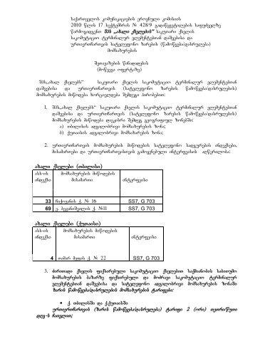 saqarTvelos komunikaciebis erovnuli komisiis