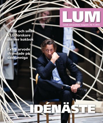 LUM nr 7, 2011 - Humanekologi Lunds universitet