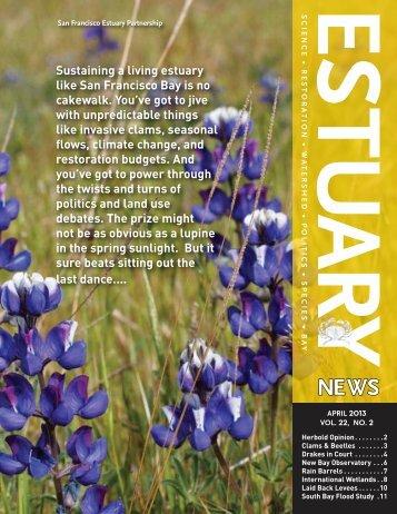 Estuary News, April 2013 PDF - San Francisco Estuary Partnership