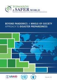 beyond pandemics - Avian and Pandemic Influenza Communication ...