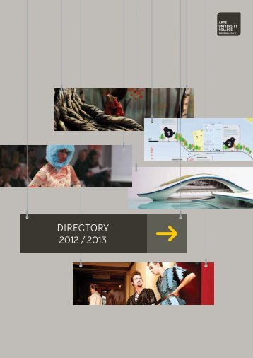 HE Directory 2012-2013 - Shock of the Arts