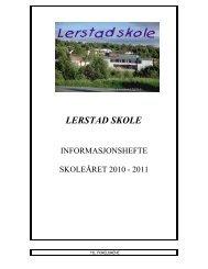 LERSTAD SKOLE - Ålesund kommune