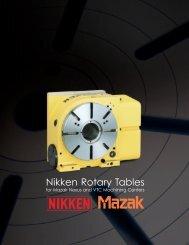 Nikken Rotary Tables - Lyndex-Nikken
