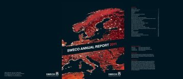SWECO ANNUAL REPORT 2011