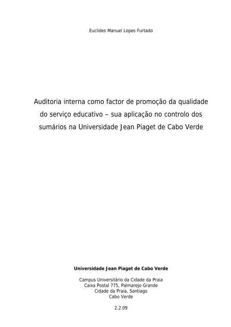 Auditoria interna como factor de promoção da qualidade.pdf