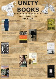 to view our Summer newsletter online! - Unity Books