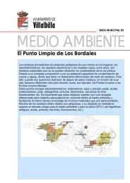 El Punto Limpio de Los Bordales - Ayuntamiento Villalbilla