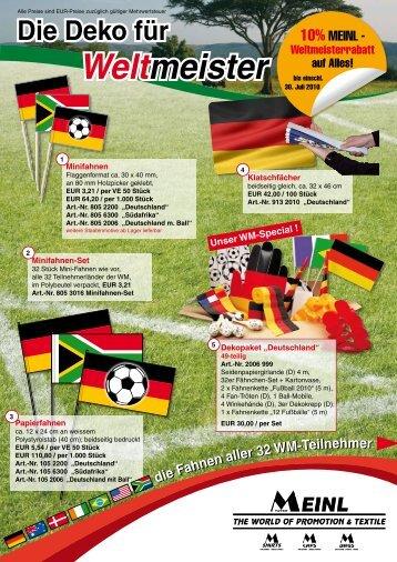 Weltmeister Weltmeister - backwerbung.de