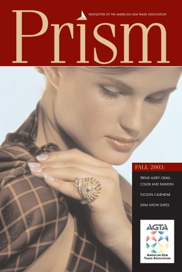 FALL 2003: - American Gem Trade Association