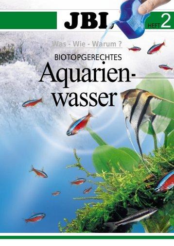 Biotopgerechtes Aquarienwasser - Schwedt Fauna