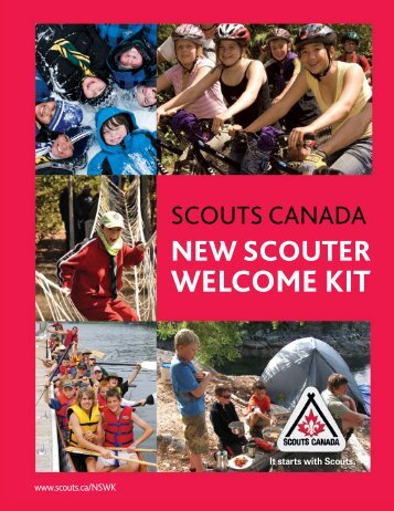 Scouts Canada - New Scouter Welcome Kit (NSWK)