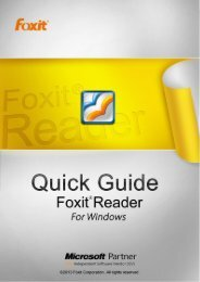 About Foxit® Reader 6.0 Beta