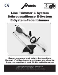 331707 Line Trimmer (Euro).qxd - Mantis