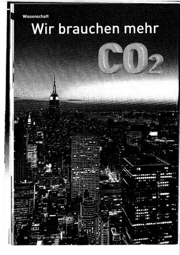 CO2-Schwindel - Blog von VICIENTE.AT