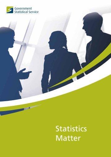 Statistics Matter - UK Statistics Authority
