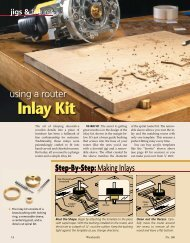 Inlay Kit - Woodsmith Woodworking Seminars