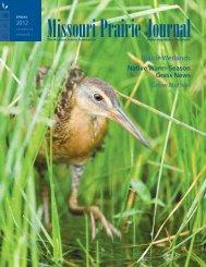 Spring 2012: Volume 33, Number 1 - Missouri Prairie Foundation