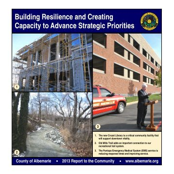 2013 Annual Report - Albemarle County
