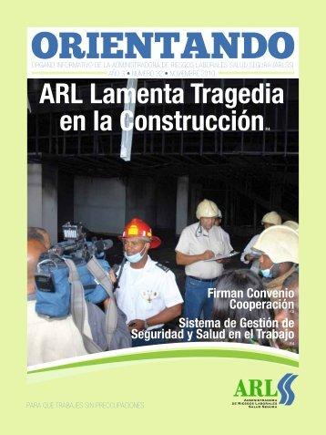 ARL Lamenta Tragedia en la ConstrucciónP.4 - Administradora de ...