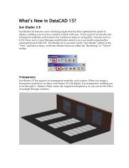 DataCAD 15 What's New? Manual