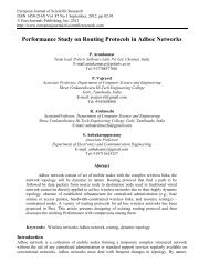 Performance Study on Routing Protocols in Adhoc Networks