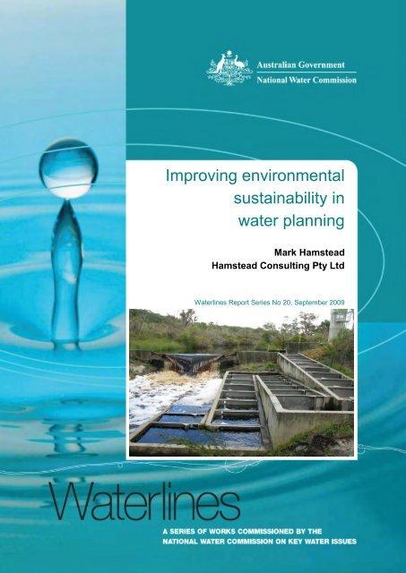 Waterlines - Australian Sustainable Development Institute