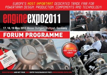 17, 18, 19 May 2011 - Engine EXPO 2013