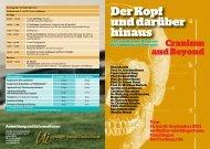 Vom 16. bis 18. September 2011 im Kultur und Bürgerhaus ...