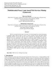 Multithreaded Fuzzy Logic based Web Services ... - EuroJournals