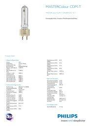 Product Leaflet: MASTERColour CDM-T 35W