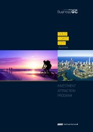 GOLD COAST CITY INVESTMENT ATTRACTION PROGRAM