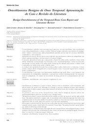 Osteoblastoma Benigno de Osso Temporal: Apresentação de Caso ...