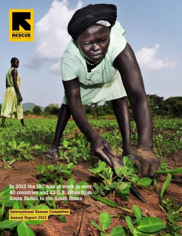 2012 Annual Report - International Rescue Committee