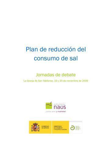 Plan de reducción del consumo de sal. Agencia ... - Eurocarne