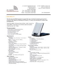 PDF Datasheet - m-cramer Satellitenservices