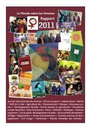 Rapport 2011 - Le Monde selon les femmes