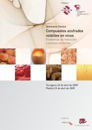 Compuestos azufrados volátiles en vinos - Fundación para la ...