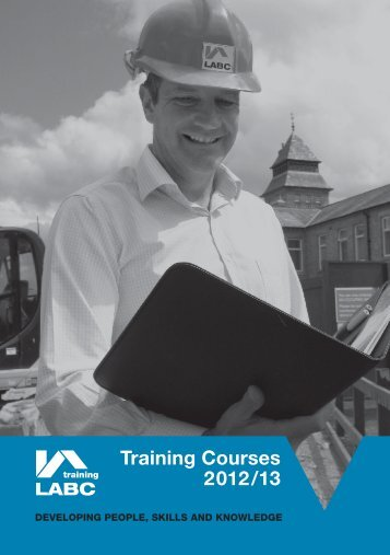 Training Courses 2012/13 - LABC - UK.COM