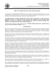 (6-13/2007) Se aprueba el reglamento del Servicio Medico Forense ...