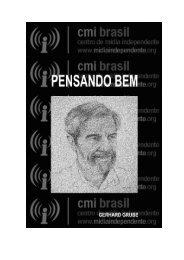 PENSANDO BEM - Centro de Mídia Independente