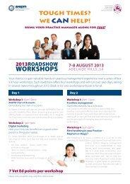 Registration & Information Brochure - SA Workshops 2013.pdf