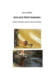 IZOLACE PROTI RADONU - Státní ústav radiační ochrany