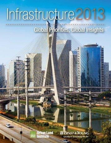 Infrastructure 2013 - Urban Land Institute