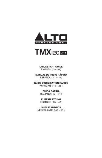 TMX120DFX - Quickstart Guide - v1.1