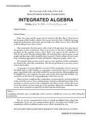 Integrated algebra - Is34.org