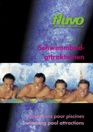 Schwimmbad- attraktionen