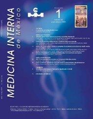 Enero-Febrero - Colegio de Medicina Interna de México AC | CMIM