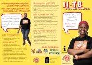 TB isiXhosa - Community Media Trust