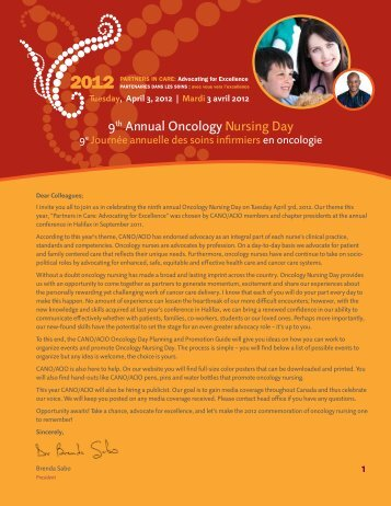 9th Annual Oncology Nursing Day - CANO-ACIO