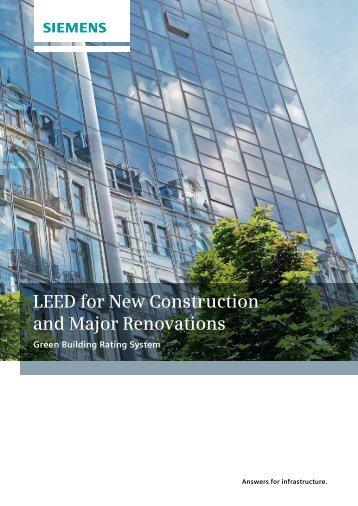 B leed for new construction v2 2 registered project for Nc elektrotechnik
